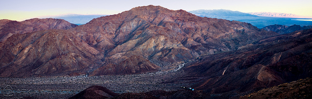 Deep canyon landscape