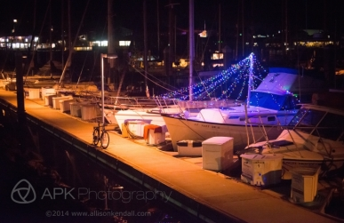 Monterey Lighted Boat Parade 2014