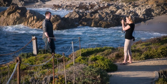 A surprise proposal photoshoot, laughter & late summer sun