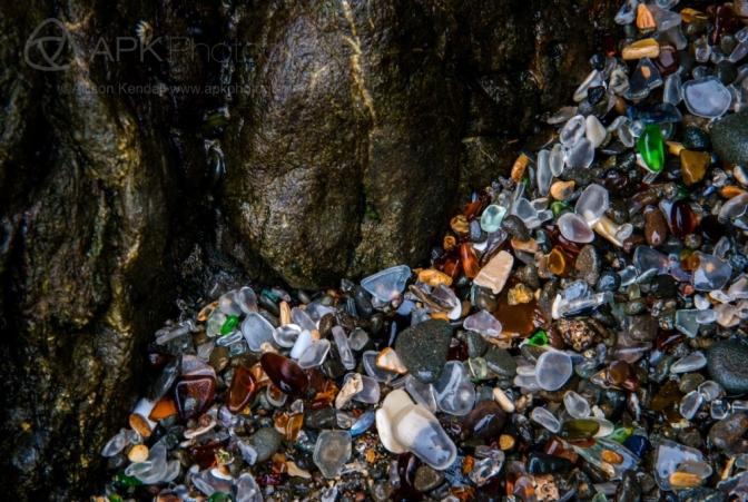Glass Beach detail, Mendocino, California