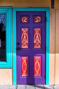 Scenes and details from the quaint and colorful town of Moss Landing, on the California coast