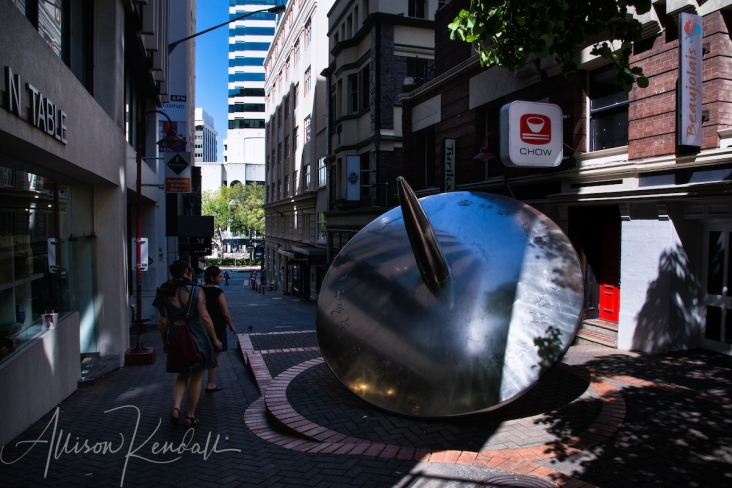 Scenes from an afternoon walking through downtown Wellington, New Zealand